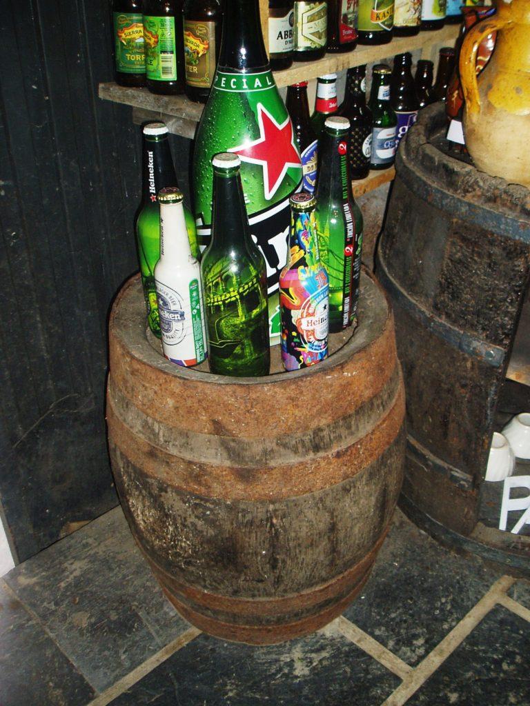 El barril de cerveza más antiguo