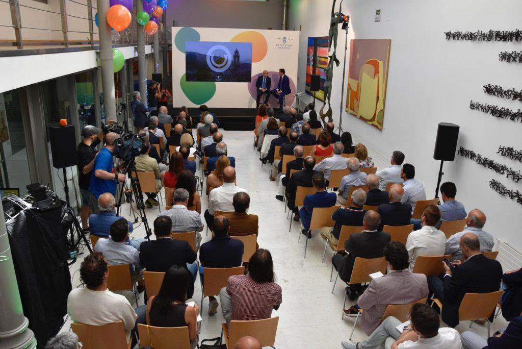 Imaxe do acto de presentación da marca Ourense
