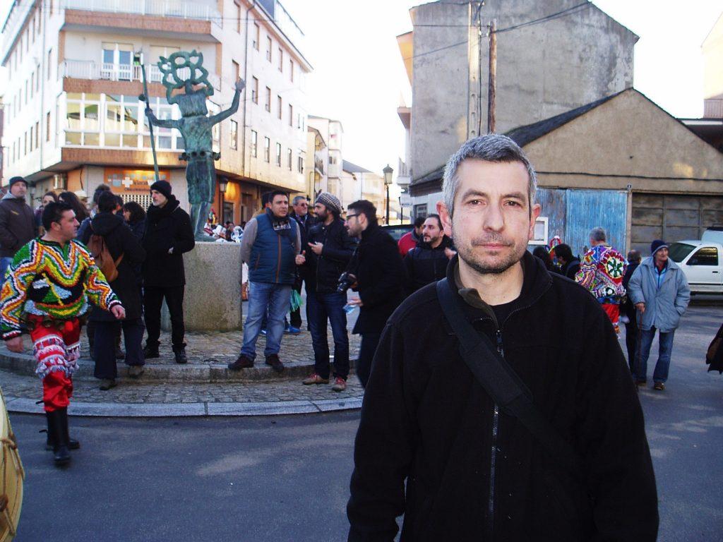 Jorge Minas, uno de los coordinadores de la marscarada Ibérica