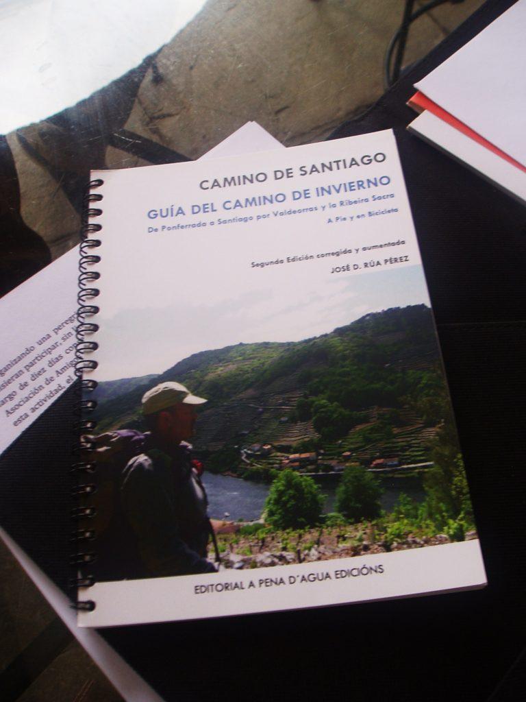 José Rúa Pérez es autor de la Guía del Camino de Invierno
