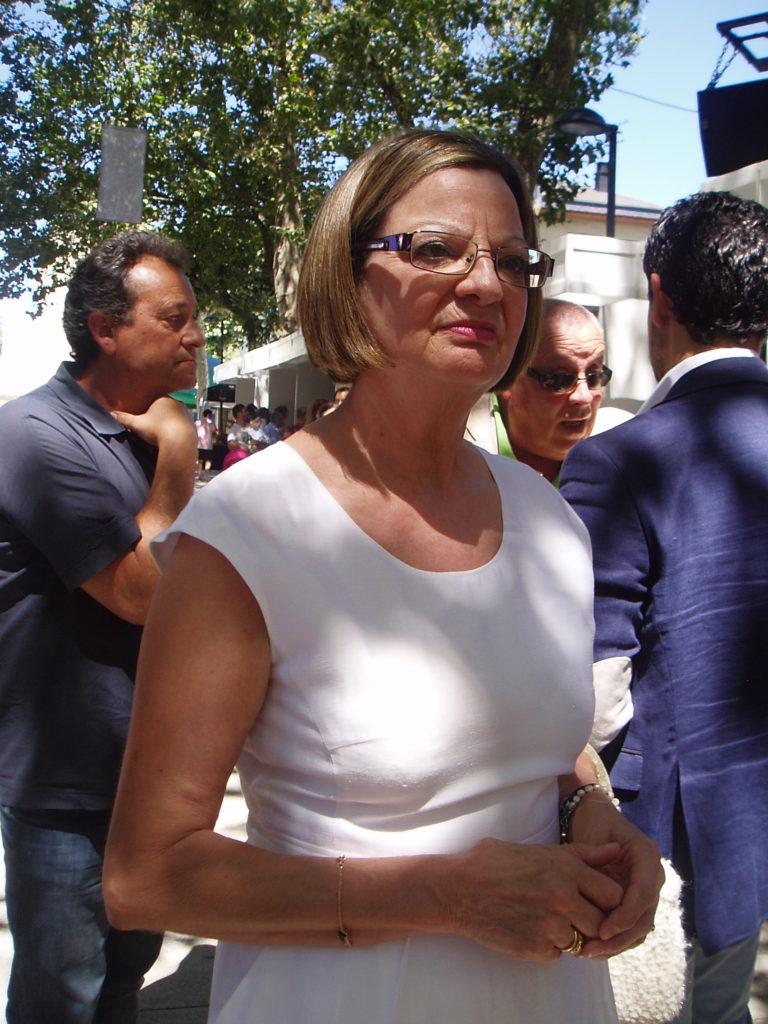 María del Carmen González, alcaldesa de Carballeda