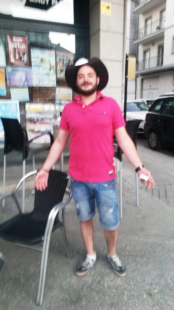 Marcos, del Bar Luna´s