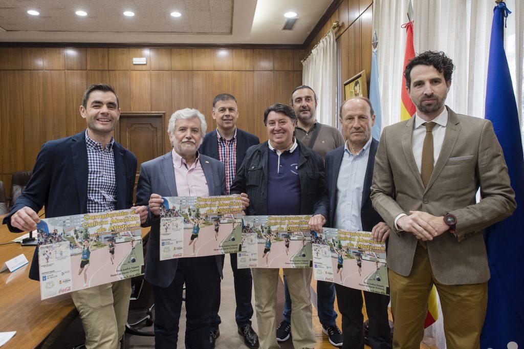 Mario González, Rosendo Fernández, Bernardino González, Manuel Blanco, Ángel Fidalgo, Mario Guede e Virxilio Rodríguez
