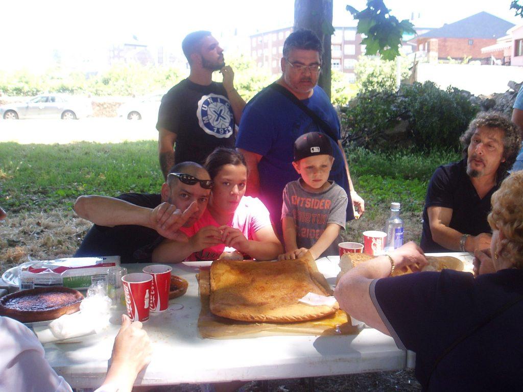 Momento de las empanadas