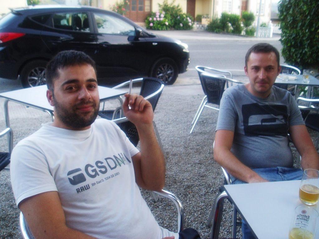 Moncho y Santi