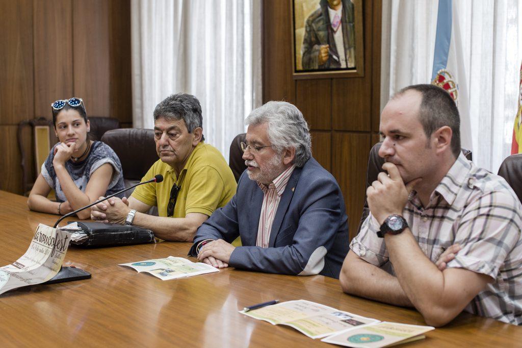 Noelia Campo, José Antonio Feijóo, Rosendo Fernández e Daniel Ferreiro