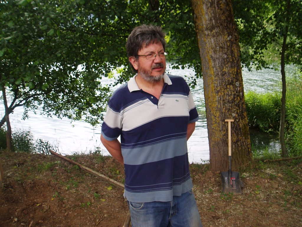 Pablo Deramond en O Bañadoiro de Vilamartín
