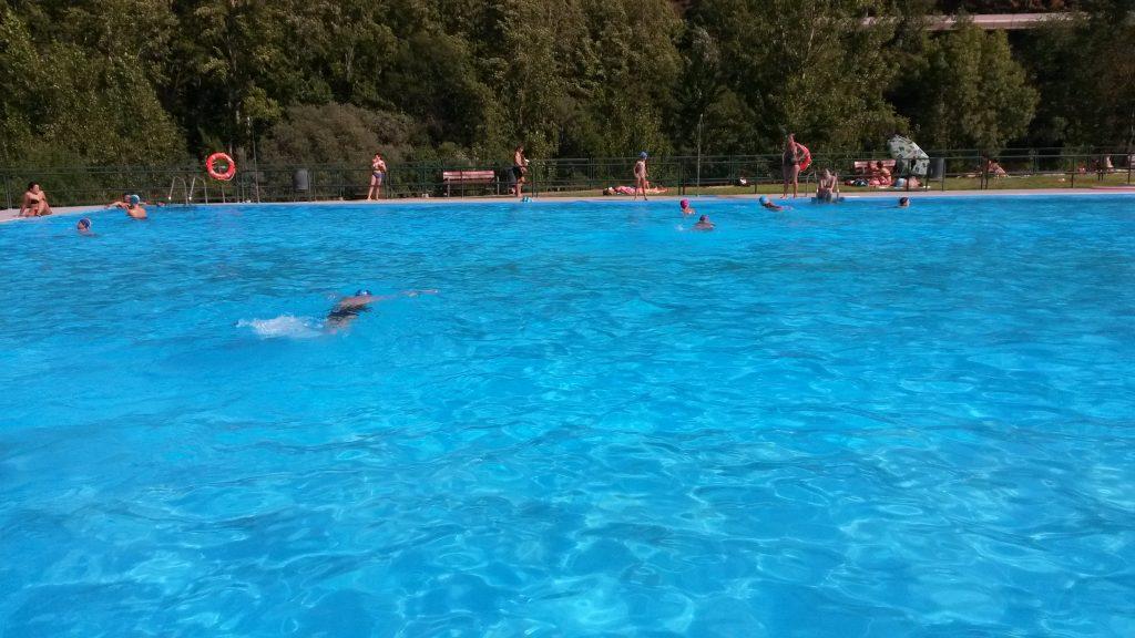 Piscina olímpica de Sobradelo, el pasado verano
