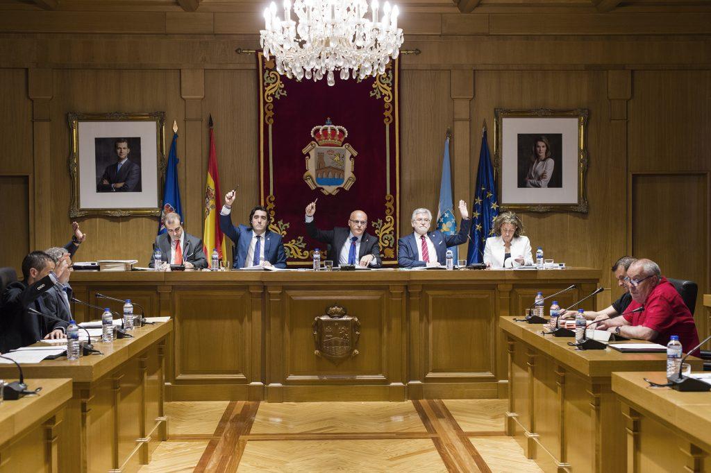 Pleno da Deputación de Ourense - Xuño 2016