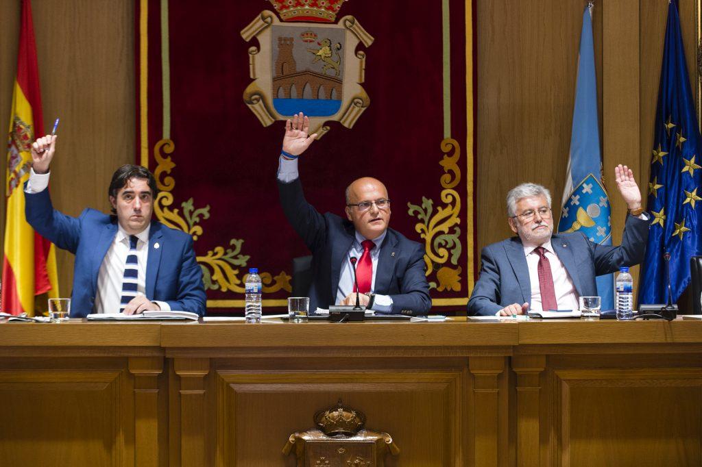 Pleno da Deputación de Ourense correspondente ao mes de xullo de 2016