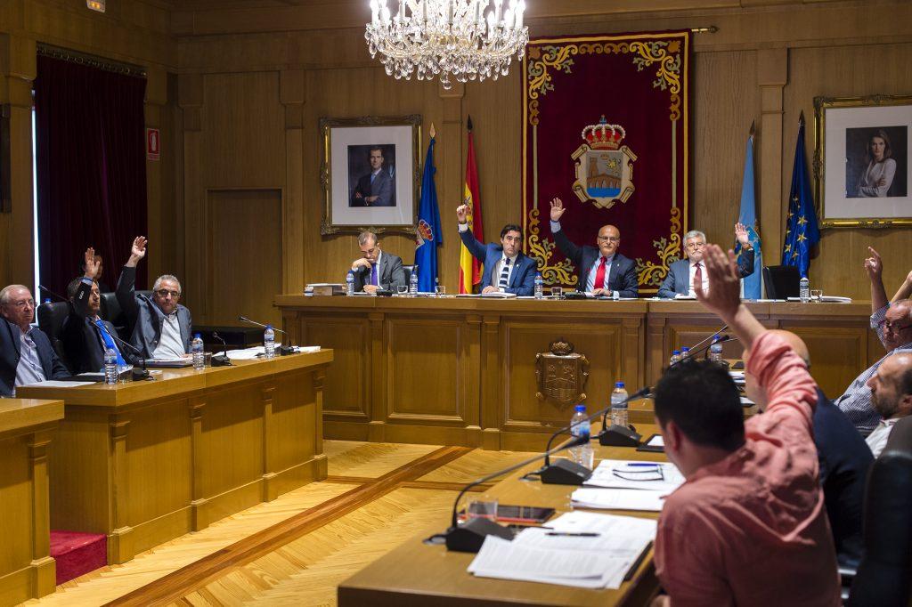 Pleno da Deputación de Ourense