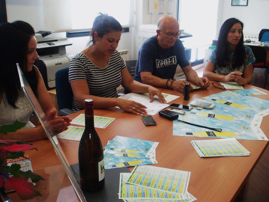 Presentación de la I Ruta de Pinchos Feira do Viño Valdeorras
