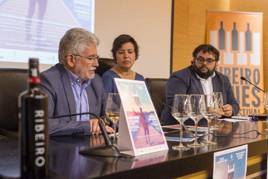 Rosendo Fernández, Cristina Alcalá e Xurxo Rodríguez
