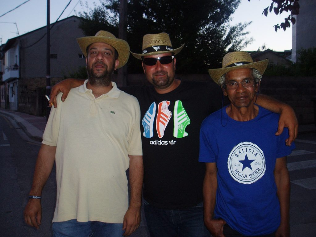 Tres participantes