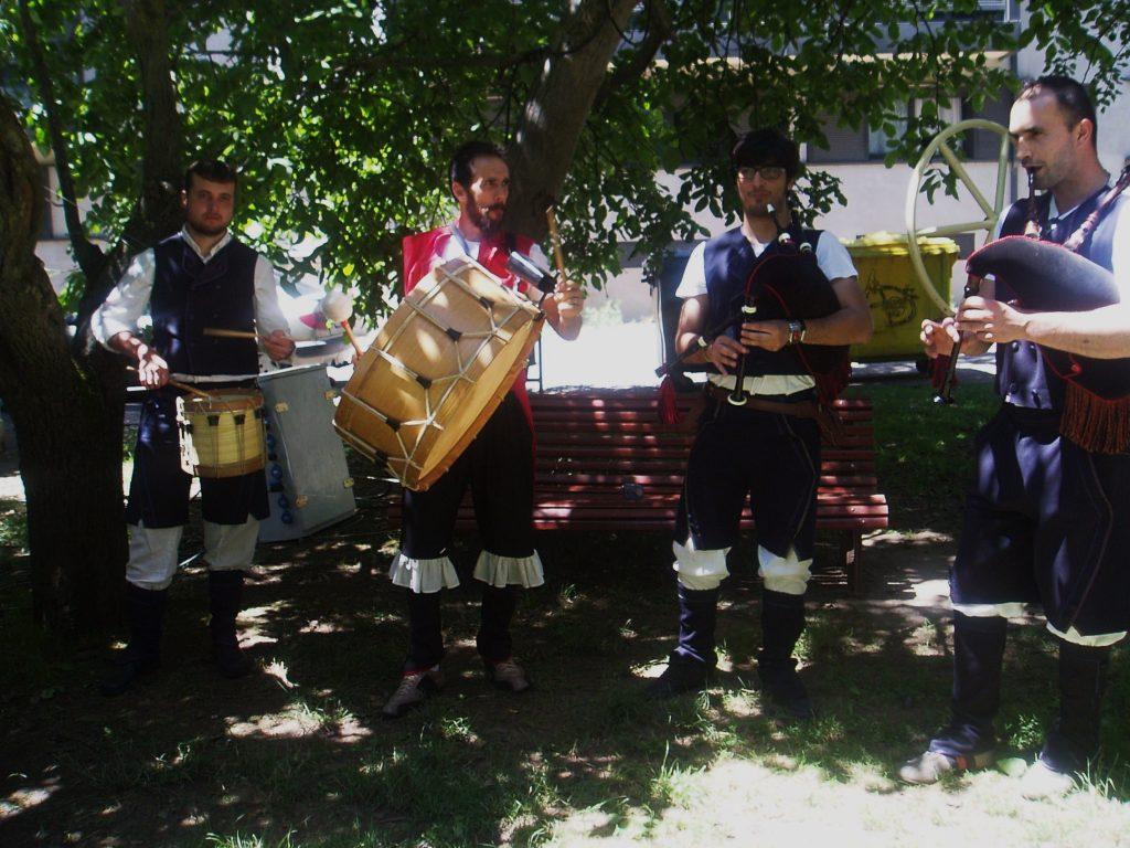 Un grupo de música