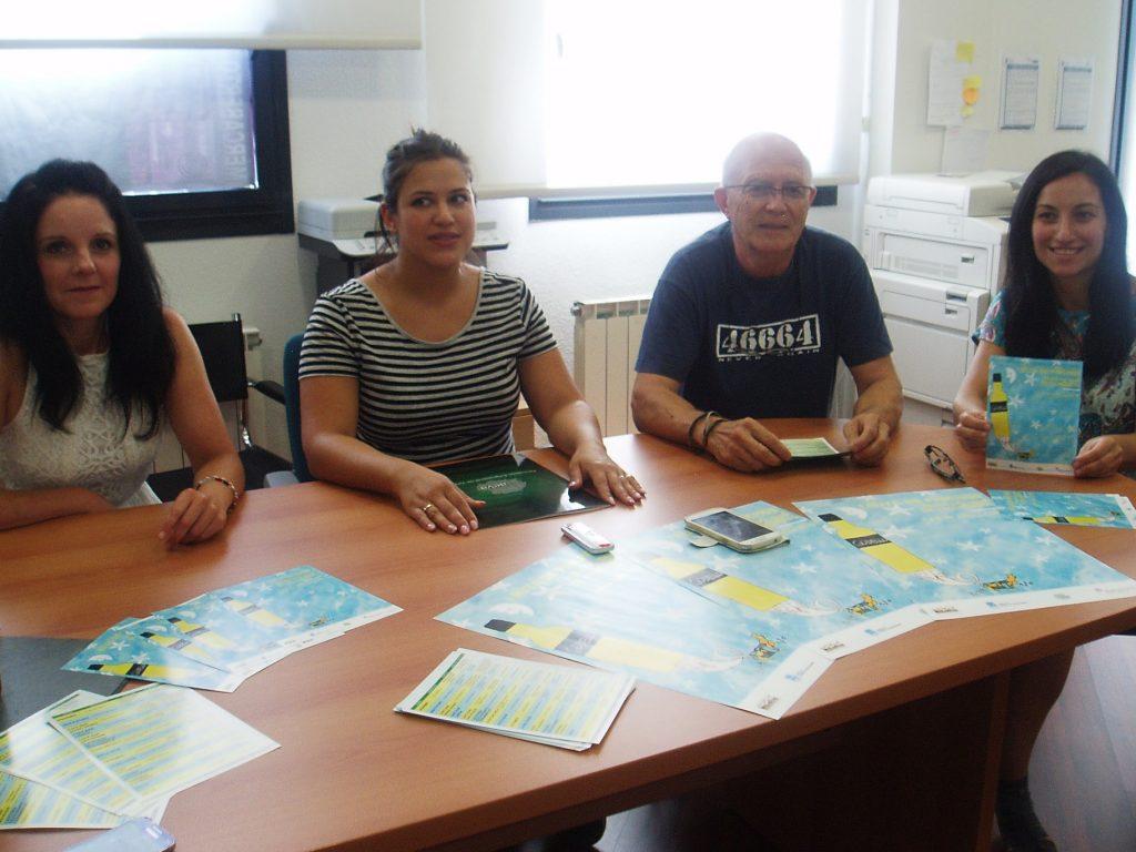 Un momento de la presentación en la sede de AEVA de la Ruta de Pinchos