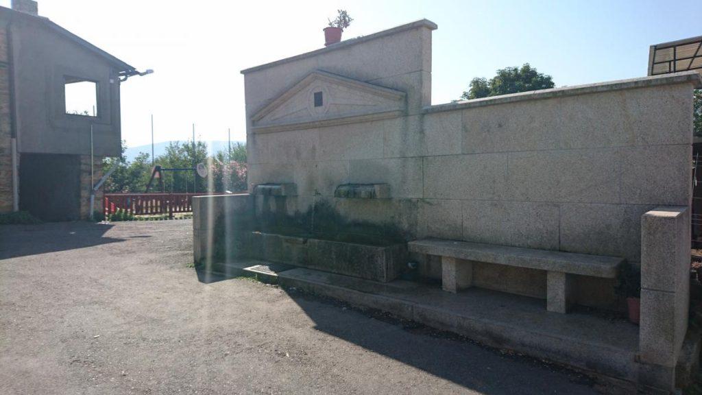 Fuente en Córgomo