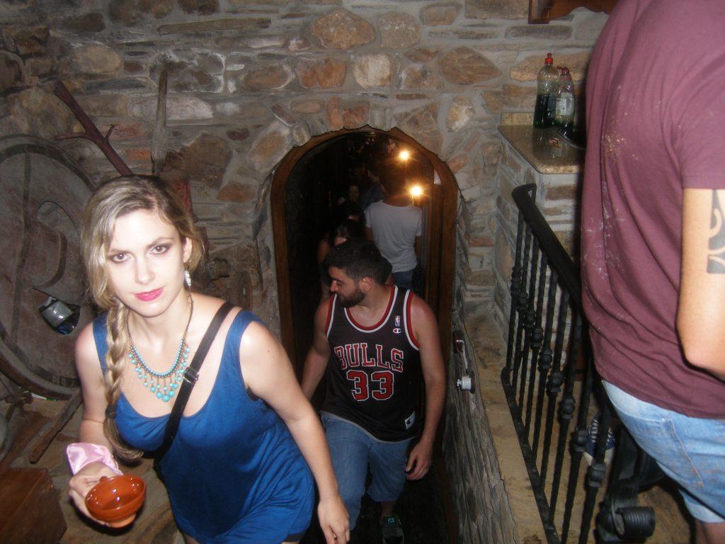 Acceso a una cova