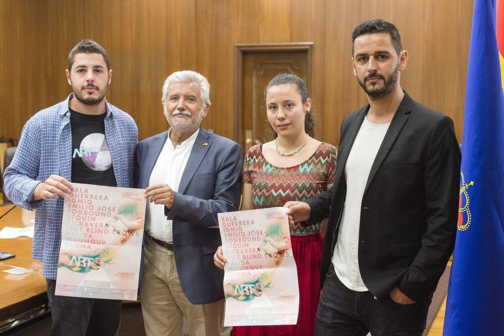 Alberto Chousal, Rosendo Fernández, Noelia Riveiro e Manuel Araujo