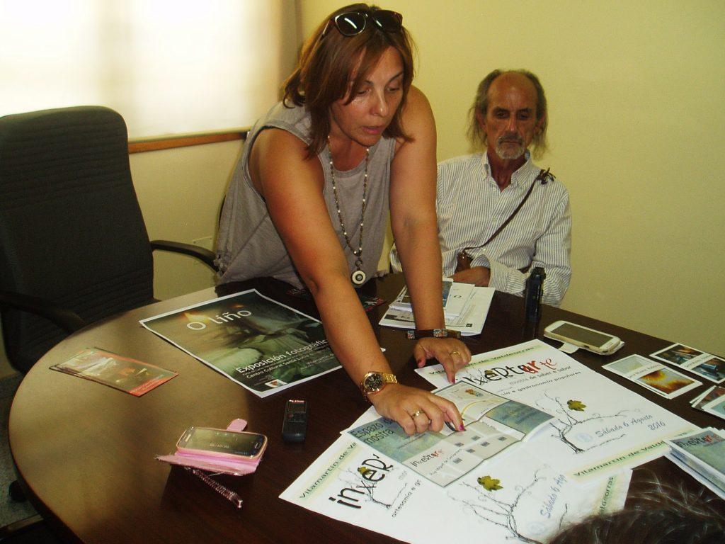 Amparo Rodríguez muestra detalles de la programación de Inxertarte