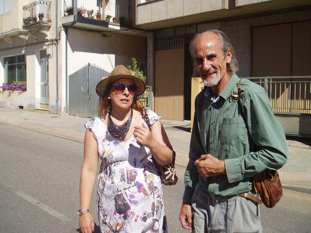 Amparo Rodríguez y Amancio Delgado