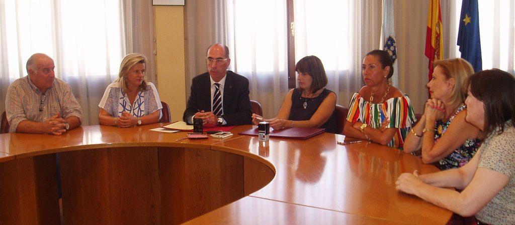Avelino García, Eloína Núñez, Jesús Vázquez, María González, Marisol Díaz, María Villar yAna Fernández Vizcaya