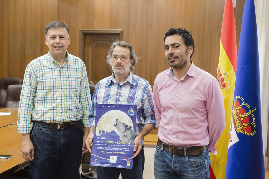 Bernardino González, Antonio Fernández e Juan Anta
