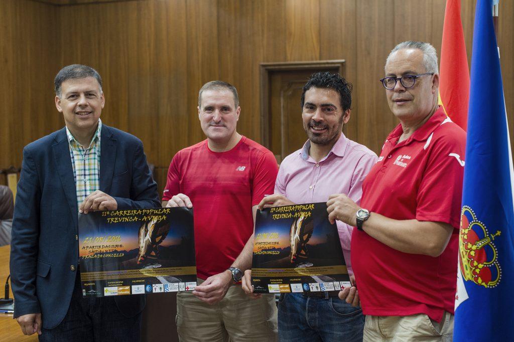 Bernardino González,Manuel Rodríguez, Juan Anta e Agustín González