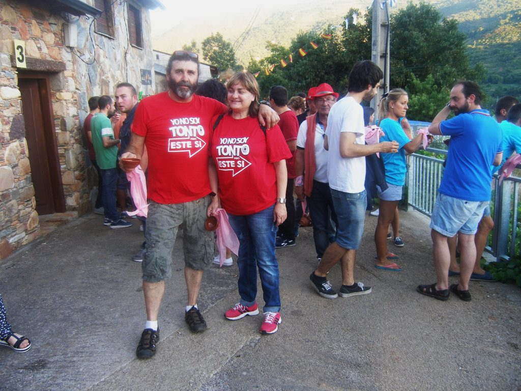 Dos participantes de Vilamartín