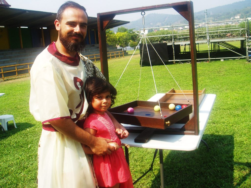 Dos romanos en los baco-juegos