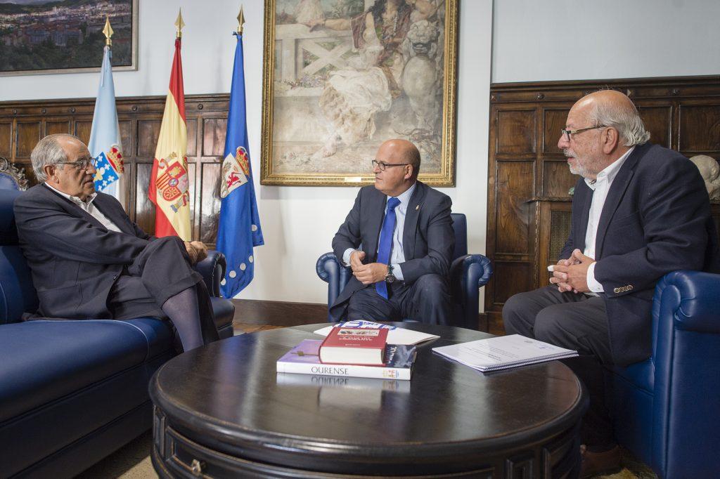 Emilio Pérez Nieto, Manuel Baltar e Serafín Ocaña