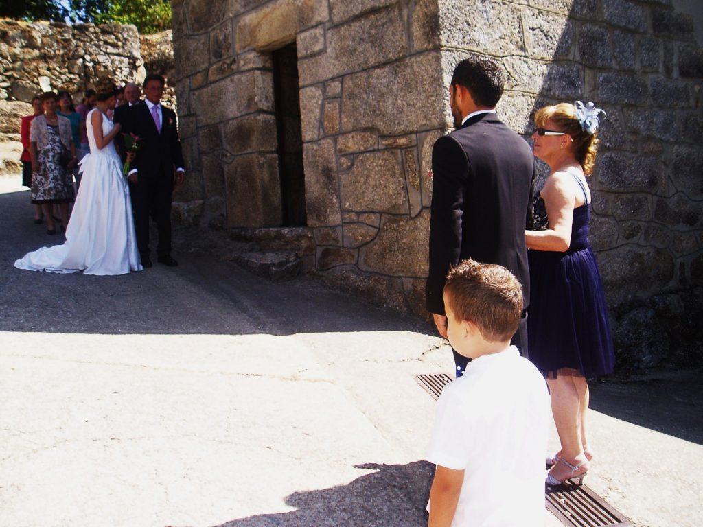 Encuentro con la novia