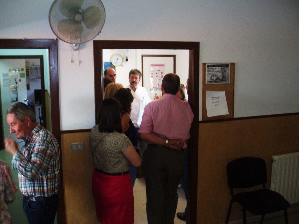Encuentro con personal del centro de salud de A Rúa