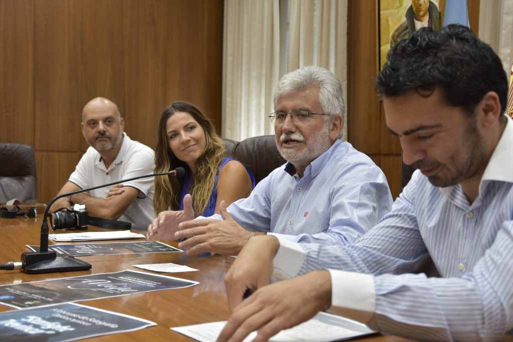 Fernando Rey, Eva Díez, Rosendo Fernández e Juan Anta