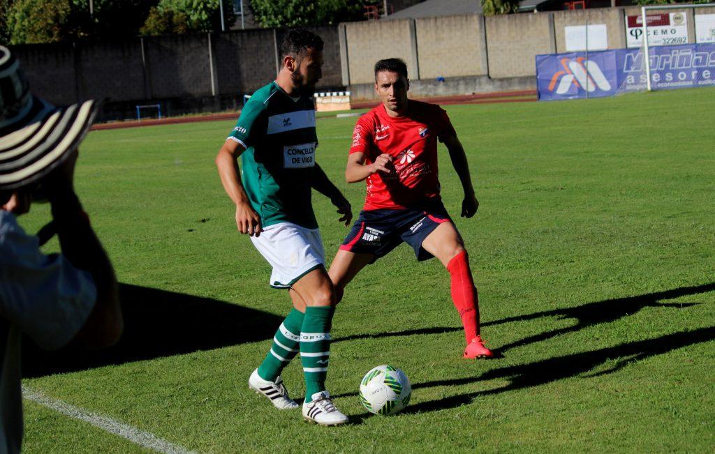 Cristóbal en el reciente partido de pretemporada frente a su ex-equipo