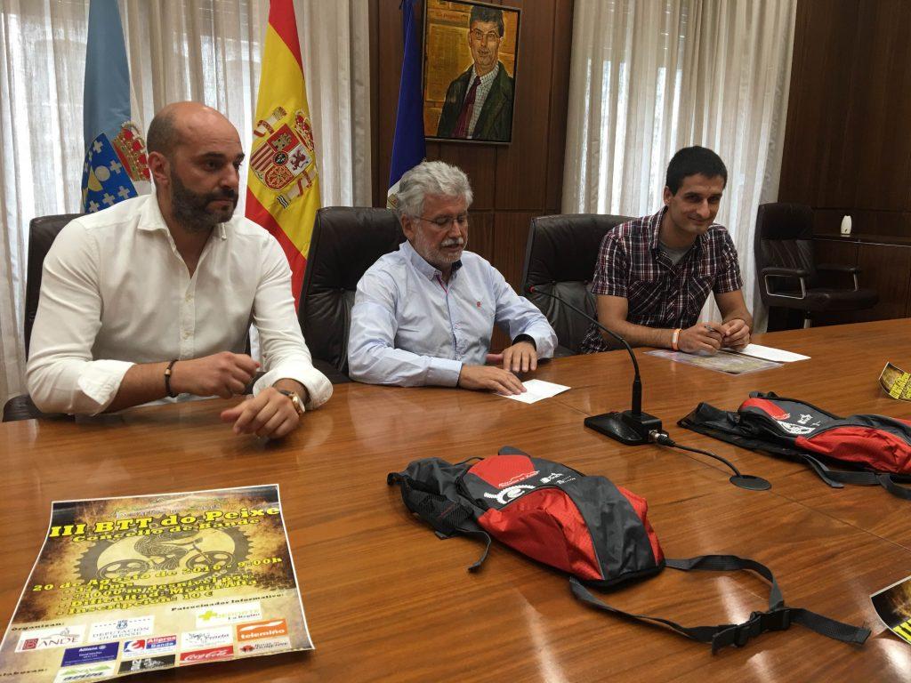 Jose Antonio Armada, Rosendo Fernández e David Sánchez