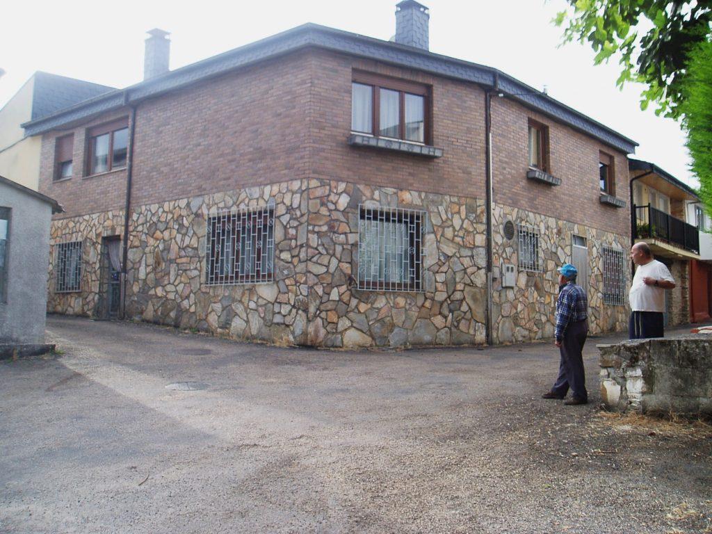 La casa de Baxeles que registró el robo