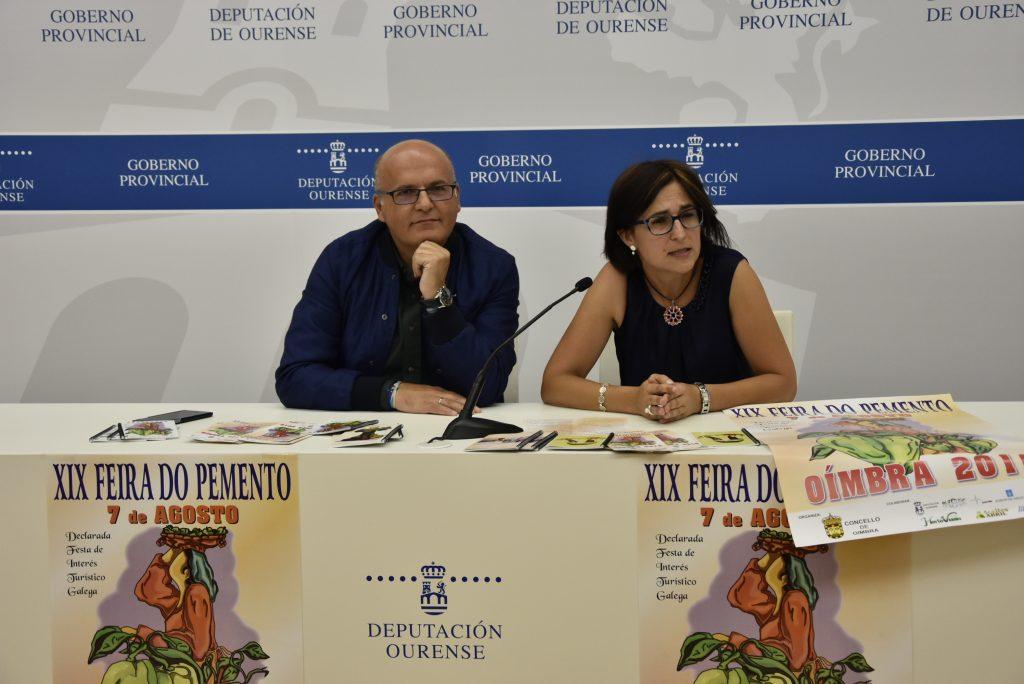 Manuel Baltar e Ana Villarino