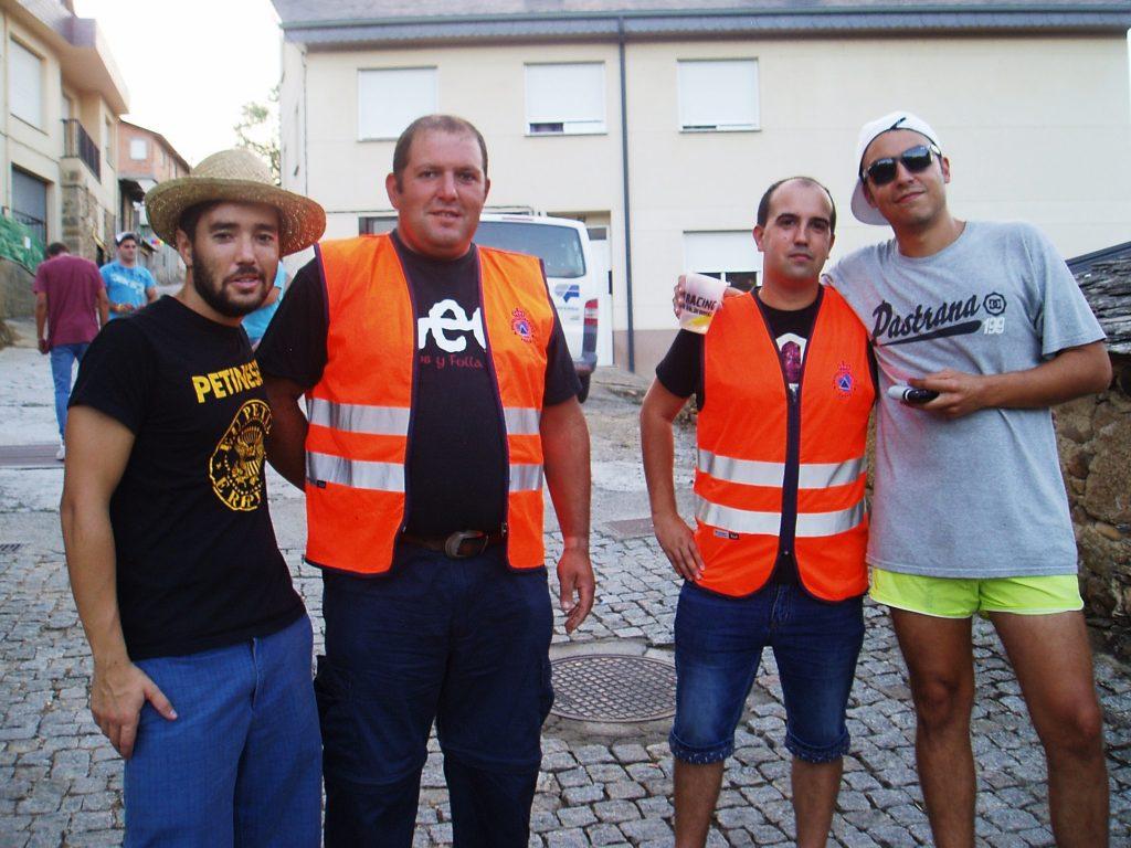 Participantes y Protección Civil