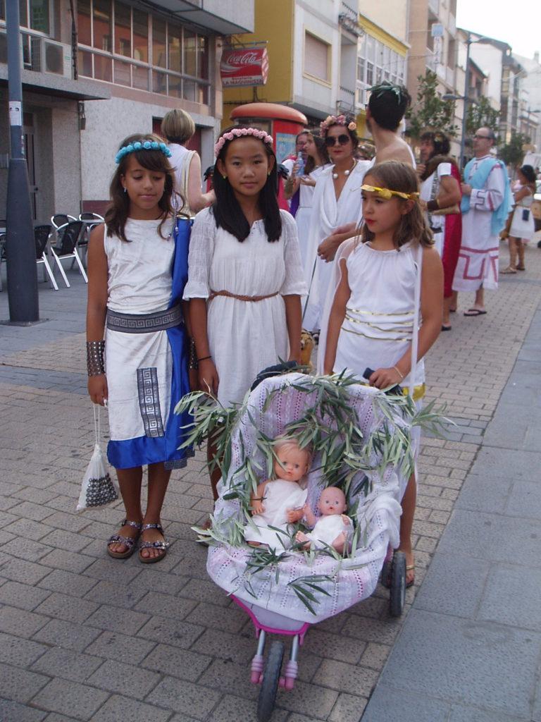 Romanas con niñas-muñeca