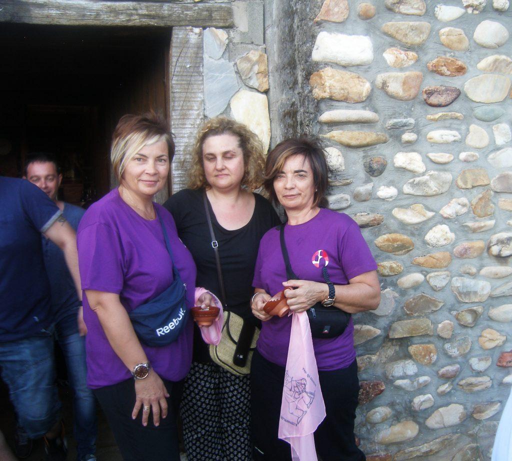 Tres participantes de Vilamartín