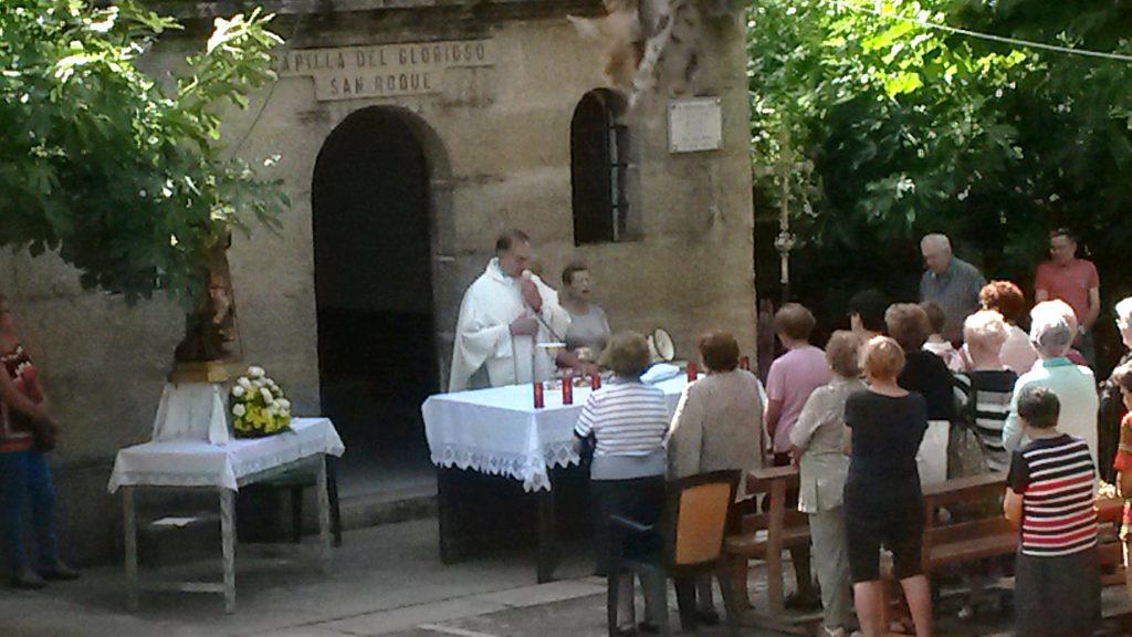 Un momento de la misa