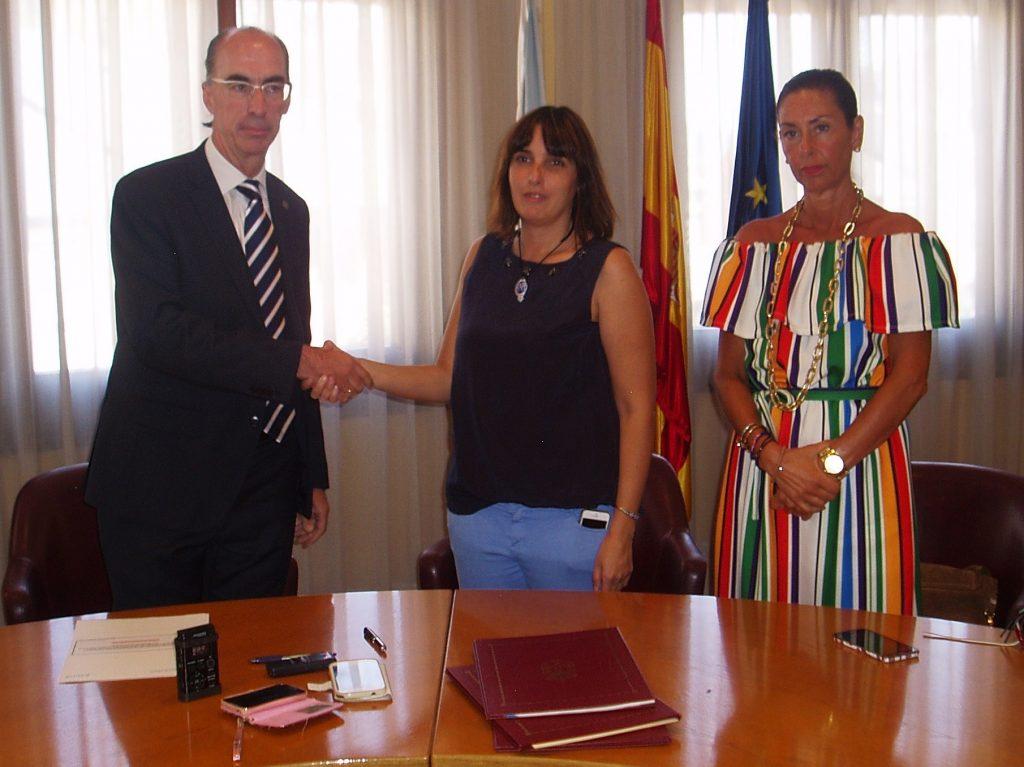 Vázquez, la alcaldesa y Marisol Díaz