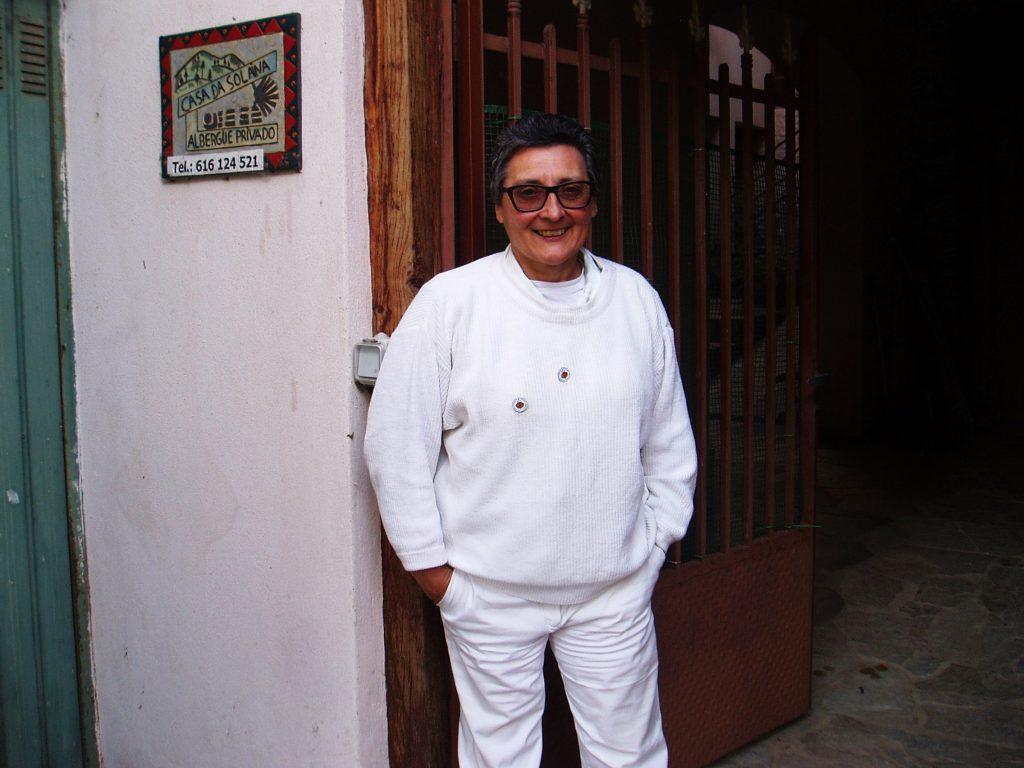 Asunción Arias, presidenta de la Asociación de Amigos do Camiño de Sanstiago por Valdeorras