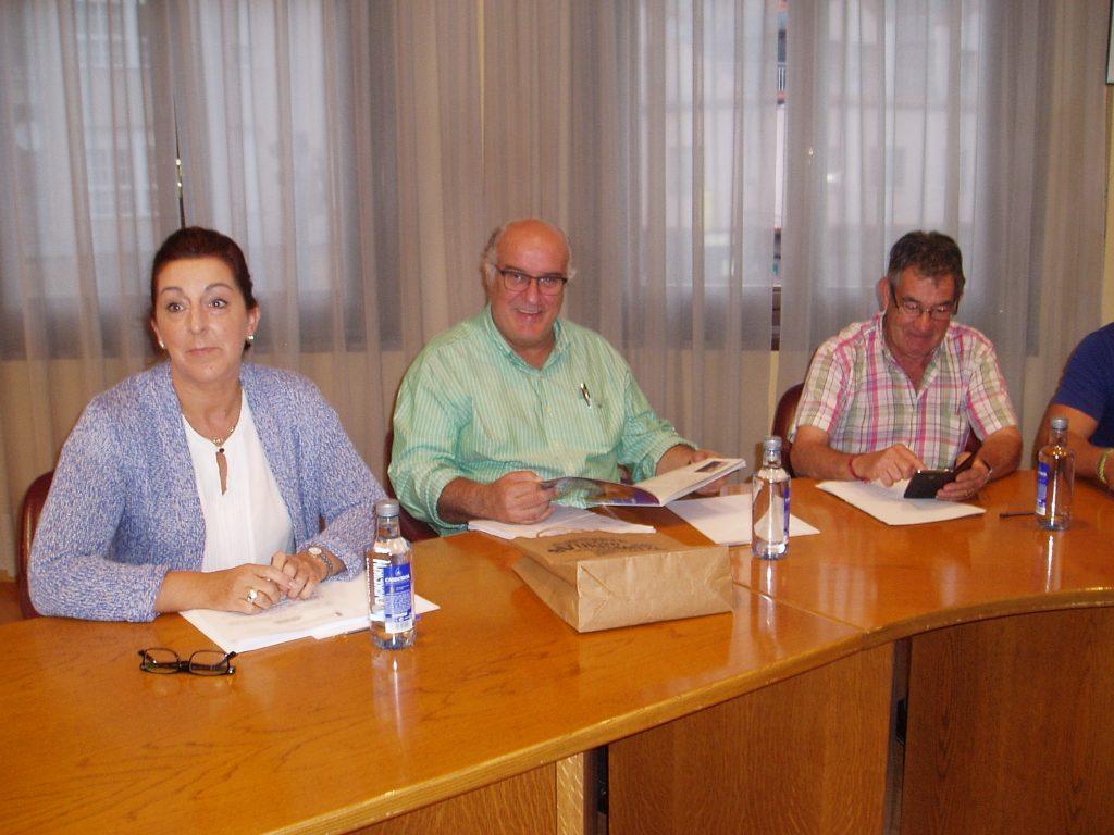 Avelino García Ferradal (PP) con su grupo