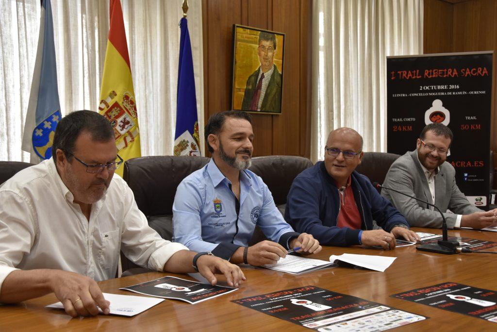 César Parente, Diego Novelle, Manuel Baltar e Artur Yuste.