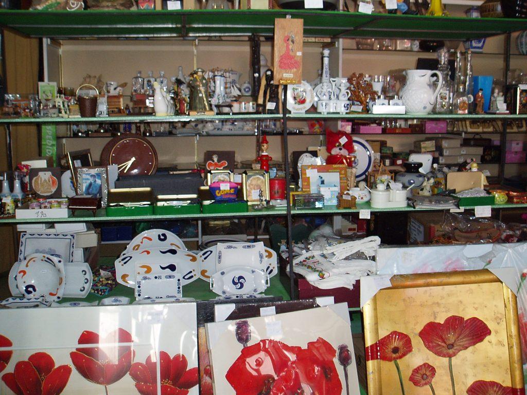 El bazar sigue lleno