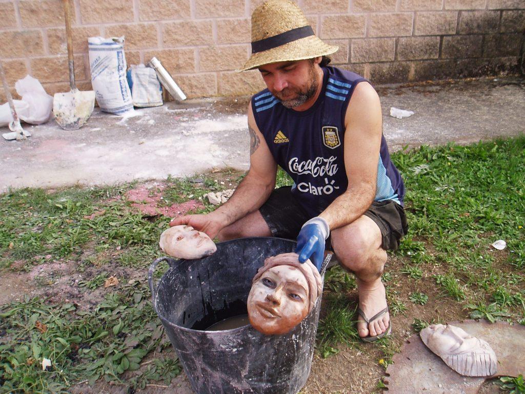 Enfriando la cerámica