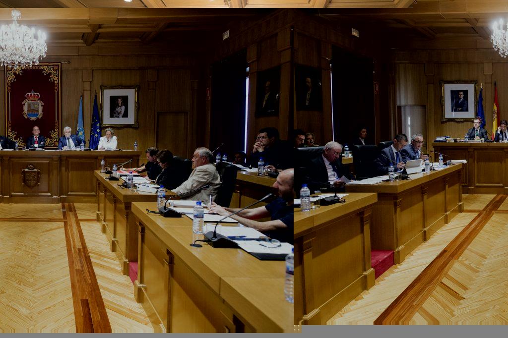 Imaxe da sesión plenaria da Deputación de Ourense 30/09/2016