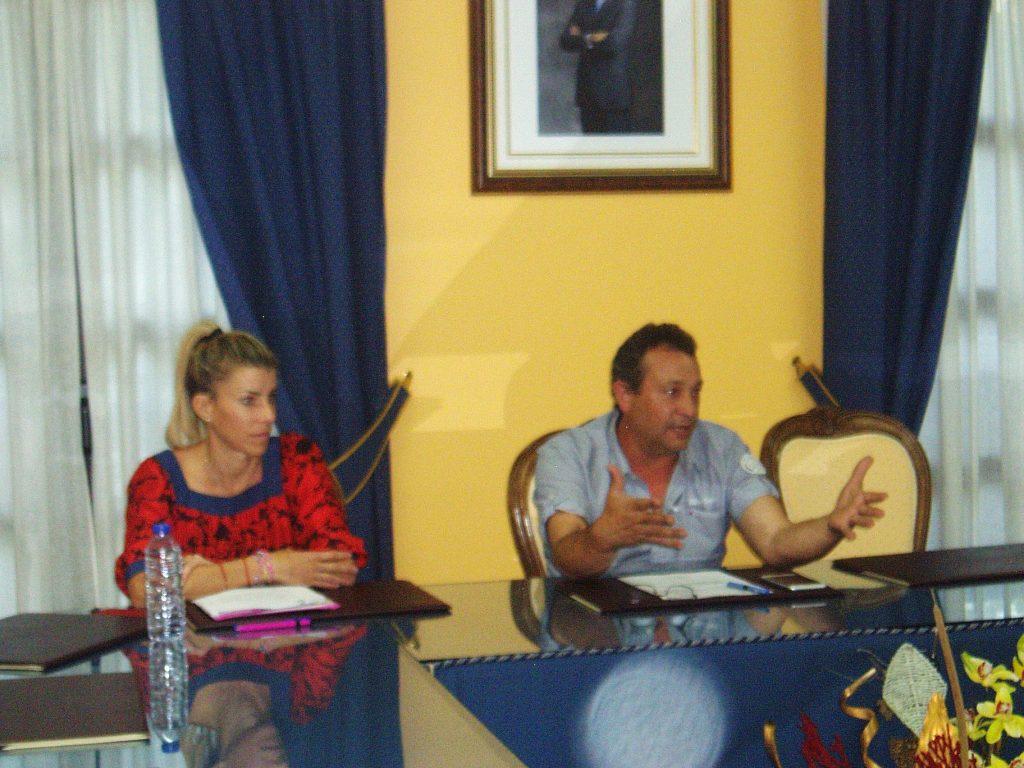 Intervención del alcalde de Vilamartín